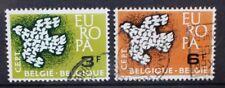 BELGIUM 1961 Europa Doves . Set of 2. Fine USED. SG1793/1794.