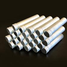 50pcs Aluminum Test Tube With Screw Cap Bottle Preroll Packaging Tube