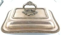 .VINTAGE / QUALITY / HEAVY SET SILVERPLATE / EPNS TUREEN / FOOD WARMER.