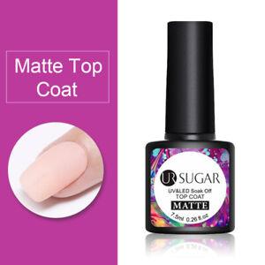 UR SUGAR 21Pcs Gel Nail Set Gel Nail Polish Kit Soak Off Nail Art Gel UV LED DIY