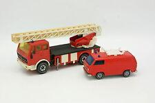 Siku 1/50 - Mercedes Skala Feuerwehr + VW Beförderer T3