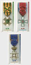 luxembourg ca 2017 National Orders Merit MEDAL MILITARY Nationalorden 3V MNH **