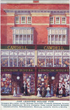 ADVERTISING : LEICESTER- CAWDELL of London House-milliners