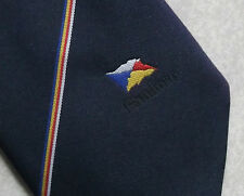 VINTAGE CLUB ASSOCIATION TIE PANDORA FLAG BOAT CRUISE SHIP FERRY NAUTICAL NAVY