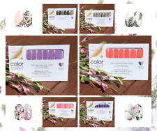 Color Street 100% Nail Polish Strips ~ Current, Hard To Find Sets & Retired