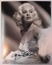 Mamie Van Doren Signed 16x20 Autograph Photo Playboy Model Auto OC Dugout Holo A