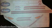 HONDA NS400R ROTHMANS RESTORATION DECAL SET IMPROVED!!!