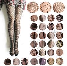Netzstrumpfhose sexy grobmaschig feinmaschig Karneval Stockings Muster fein