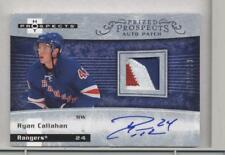 RYAN CALLAHAN 2007-08 HOT PROSPECTS AUTO/PATCH RC