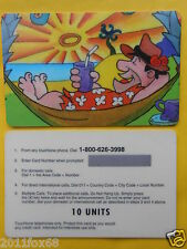 cartes de telephone telefonkarte phone cards 10 units flintstones fred antenati