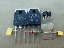 Bundle Kit 2sb1647 2sd2560 2sa992 2sc1845 für Denon und Pionner Receiver