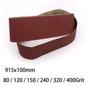 915x100mm Sanding Belt For Abrasive Belt Machine 80 /120 /150 /240 /320 /400Grit