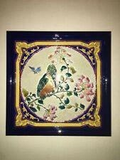 Carrelage Longwy-Creil  encadré (Original 1900) Art nouveau