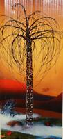 """Halloween Lighted Willow Tree 68""""  Decor Prop Haunted Indoor / Outdoor"""