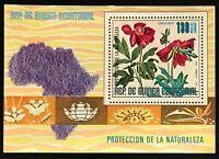 Equatorial Guinea #MiBl244 MNH S/S CVEUR6.00 African Flowers