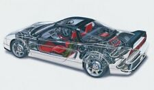 A3 Honda NSX2 Cutaway Drawing Wall Poster Art Picture Print