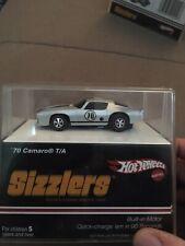 2006 Hot Wheels Sizzlers Silver Camaro TA New