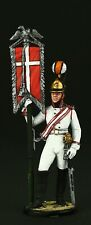 Tin soldier, Collectible, Standard-junker of the Cavalry, 54 mm, Napoleonic Wars
