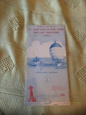 Nautical Chart 855-SC Oct 1966- St Lucie to Fort Myers and Lake Okeechobee