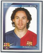 PANINI UEFA CHAMPIONS LEAGUE 2008-09- #101-BARCELONA-GABRIEL MILITO