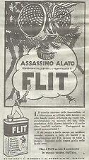 W7103 FLIT - Assassino alato... - Pubblicità del 1932 - Vintage advertising