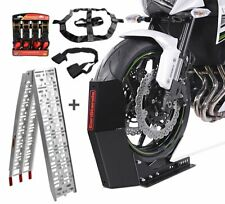 Calzo rueda + Rampa + Correas para Benelli 502C SM14