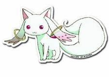 Authentic Madoka Magica Kyubey Die-Cut Sticker!