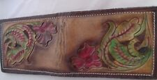 Texas Prison Handmade Small Men's Wallet Genuine Leather Crafted Billfold New