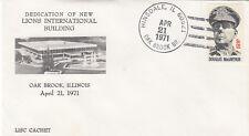 (06116) Cubierta de EE. UU. Leones Internacional Oak Brook Hinsdale Illinois 21 de abril de 1971