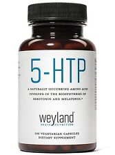 5-HTP 100mg (from Griffonia simplicifolia) (100 Vegetarian Capsules). FREE S&H