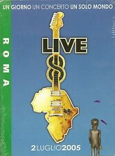 Live 8 One Day One Concert One World Various Artists Rom DVD Neu OVP Sealed