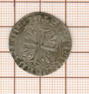 Charles VII 1422-1461 Blanc aux trois lis, Toulouse