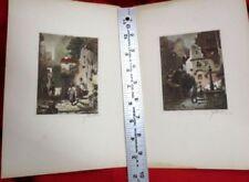 Handsignierte Realismus mit Lithographie-Technik