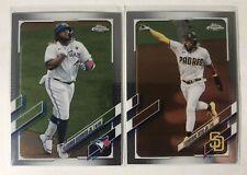 2021 Topps Chrome #1-220 - Veterans & Rookies - Complete Your Set (You Pick) RC