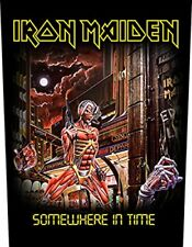 Iron Maiden Somewhere in Time officiel Back Ecusson (36cm x 29cm) One Size