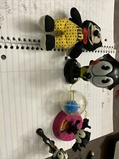 Wendy's Felix The Cat Lot 4 Vintage Collectible Htf Rare 1990s