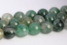10MM Genuine Natural Green Calcedony Grade AAA Round Gemstone Loose Beads 16""