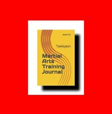 ☆MARTIAL ARTS BOOK:TRAINING JOURNAL:TAEKKYEON METHODS+ STYLE+TACTICS%GEORGE CHOW