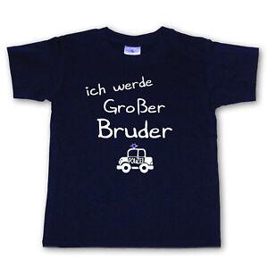 T-Shirt - ich werde Großer Bruder - Wahl: Motiv, Wunschname, Größe * NEU *