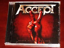 Accept: Blood Of The Nations CD 2010 Bonus Track Nuclear Blast USA NB 2605-2 NEW