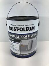 Rust Oleum Aluminum Roof Coating 9 Gallon New