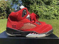 98e4eb95064 Air Jordan 5 Raging Bull Red Suede for sale | eBay