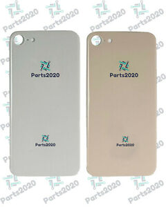 Rear Back Battery Cover For Apple iPhone 8 Big Camera Hole With Adhesive