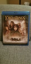 The Lord Of The Rings: Fellowship Of The Ring (Blu-Ray + Dvd) Fast Shipping