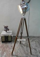 Antique Style Vintage Old Century Modern Searchlight Lamp Tripod