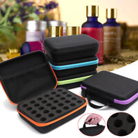 30 Bottle Essential Oil Carry Case 5ML Holder Storage Aromatherapy Hand Bag NEW