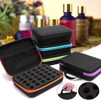 30 Slots EVA Aromatherapy Travel Case Essential Oil Bottle Carry Holder Storage