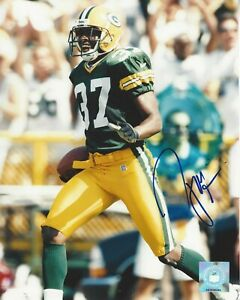 Tyrone Williams  Green Bay Packers Autographed 8x10 Photo Super Bowl Champion