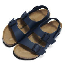 BIRKENSTOCK Milano BF Slides Men Sandals 34751 blue