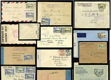 WW2 CENSORED MAIL SIERRA LEONE +GOLD COAST WEST AFRICA AIR+ SURFACE..EACH PRICED